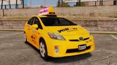 Toyota Prius 2011 Adelaide Yellow Taxi