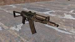 Автомат АКС74У Black для GTA 4