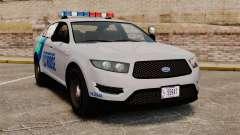 GTA V Vapid Police Stanier Interceptor [ELS] для GTA 4