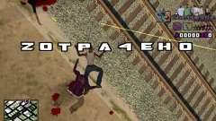 С-HUD Getto Life для GTA San Andreas