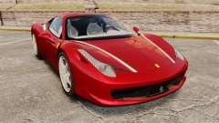 Ferrari 458 Italia 2010 Novitec для GTA 4
