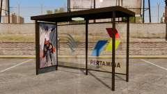 Автобусные остановки Naruto для GTA 4