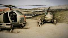 Spec Ops The Line AH6 для GTA San Andreas