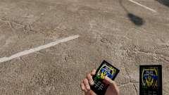 Тема для телефона LCPD для GTA 4