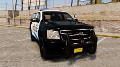 Chevrolet Tahoe Police [ELS] для GTA 4