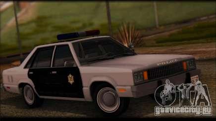 Ford Fairmont 1978 4dr Police для GTA San Andreas