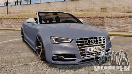 Audi S5 Convertible 2012 для GTA 4