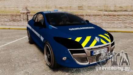 Renault Megane RS Gendarmerie Nationale [ELS] для GTA 4