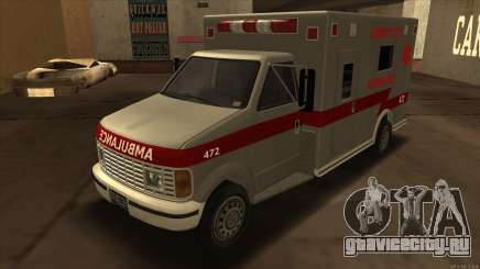 Ambulance HD from GTA 3 для GTA San Andreas