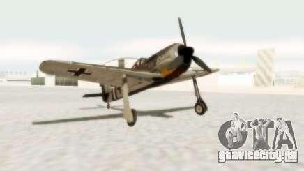Focke-Wulf FW-190 A5 для GTA San Andreas