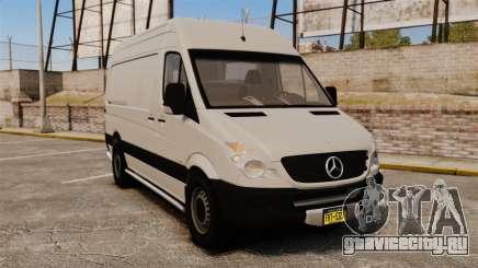 Mercedes-Benz Sprinter 2500 Delivery Van 2011 для GTA 4