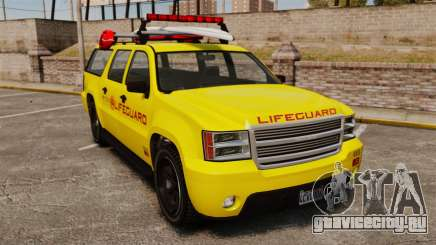GTA V Declasse Granger 3500LX Lifeguard для GTA 4