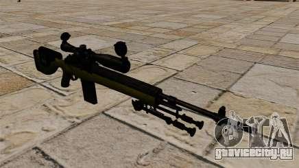 Cнайперская винтовка M14 DMR для GTA 4