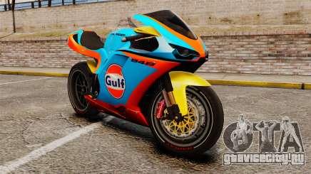 Ducati 848 Gulf для GTA 4