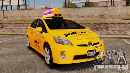 Toyota Prius 2011 Adelaide Yellow Taxi для GTA 4