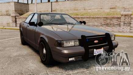 GTA V Unmarked Cruiser Police для GTA 4