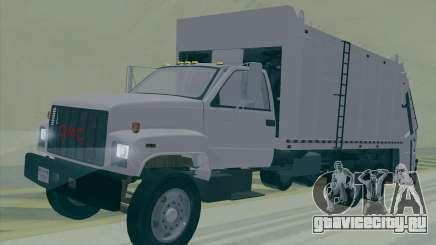 GMC C550 Topkick Trashmaster для GTA San Andreas