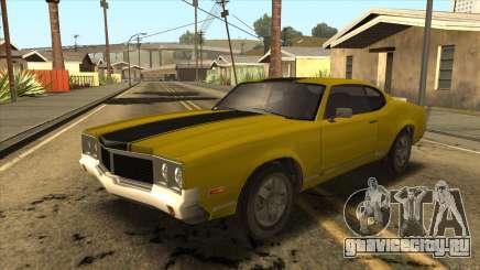 Sabre HD from GTA 3 для GTA San Andreas