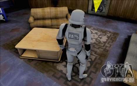 Штурмовик из Star Wars для GTA San Andreas третий скриншот