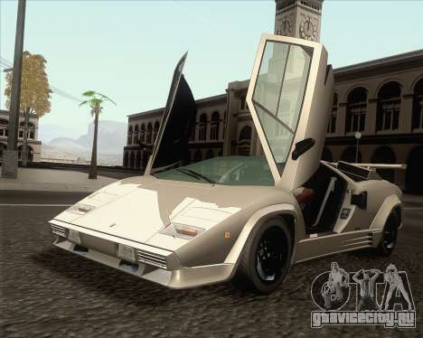 Lamborghini Countach LP500 Quattrovalvole 1988 для GTA San Andreas