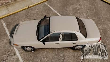 Ford Crown Victoria 1998 v1.1 для GTA 4 вид справа