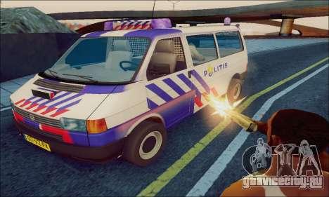 Volkswagen T4 Politie для GTA San Andreas
