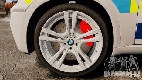 BMW X5 City Of London Police [ELS] для GTA 4 вид сзади