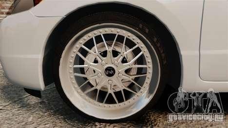 Honda Civic Si v2.0 для GTA 4 вид сзади