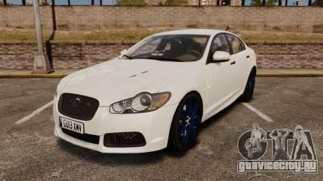 Jaguar XFR 2010 Police Unmarked [ELS] для GTA 4