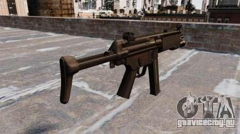 Пистолет-пулемёт МР5А3 для GTA 4 второй скриншот