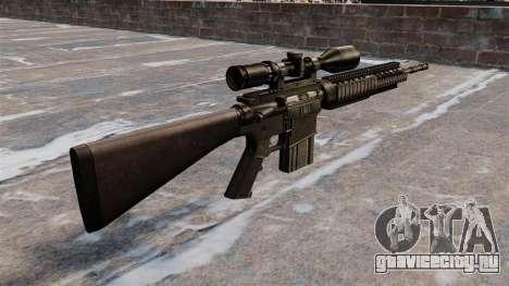 Снайперская винтовка Armalite AR-10 для GTA 4 второй скриншот