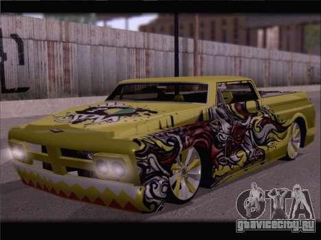 New Slamvan для GTA San Andreas