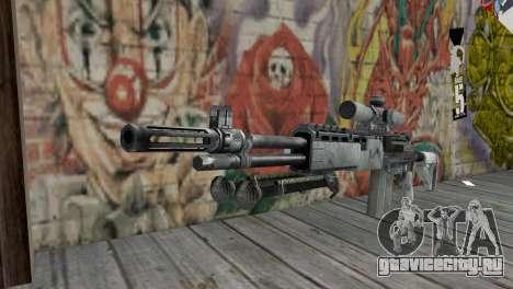 M14 EBR Арктический для GTA San Andreas