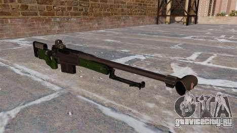 Снайперская винтовка AW50F для GTA 4