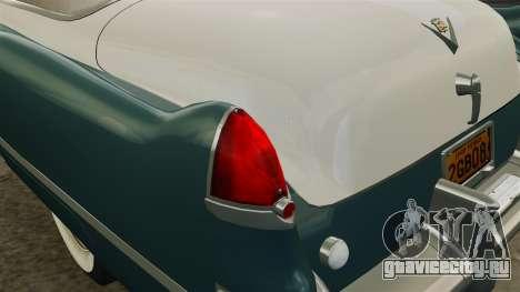 Cadillac Series 62 1949 для GTA 4 салон