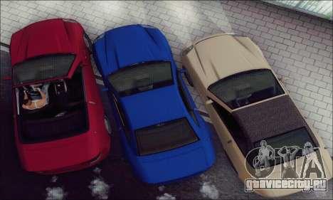 Feltzer из GTA IV для GTA San Andreas вид изнутри