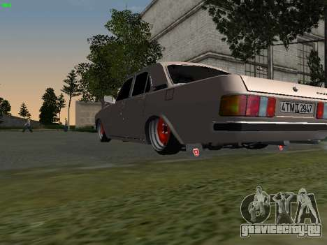ГАЗ 3102 Stance для GTA San Andreas вид справа