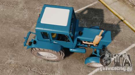 Трактор МТЗ-80 для GTA 4 вид справа