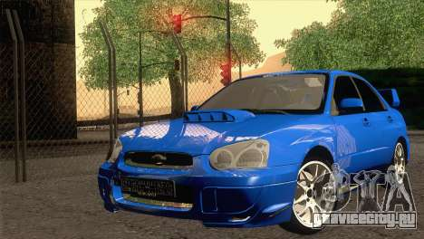 Subaru WRX STI 2004 для GTA San Andreas