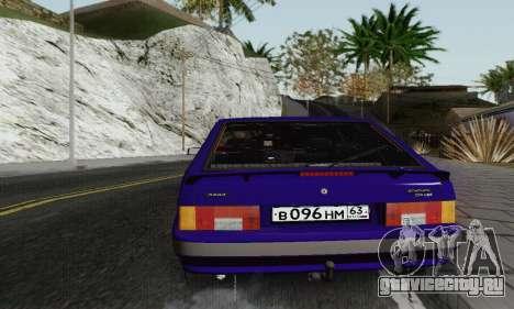 ВА3 2114 для GTA San Andreas вид сбоку
