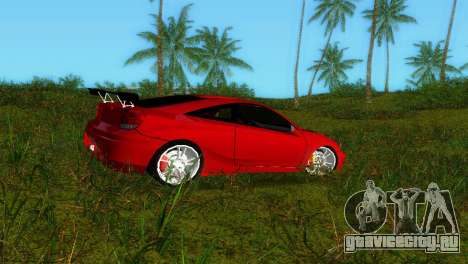 Toyota Celica XTC для GTA Vice City вид слева