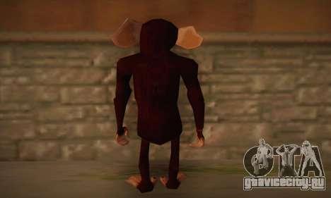 Шимпанзе для GTA San Andreas второй скриншот