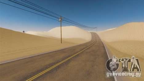 Локация Desert Highway для GTA 4 третий скриншот