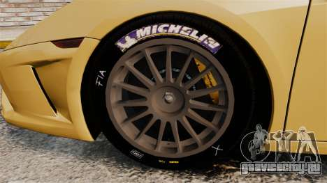 Lamborghini Gallardo 2013 v2.0 для GTA 4 вид сзади