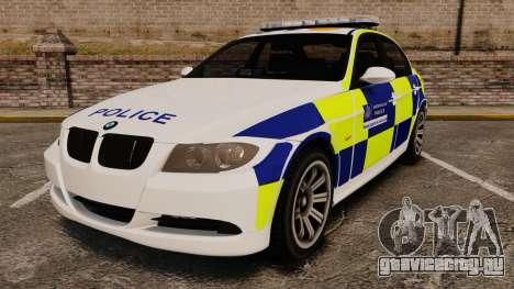 BMW 330i Metropolitan Police [ELS] для GTA 4
