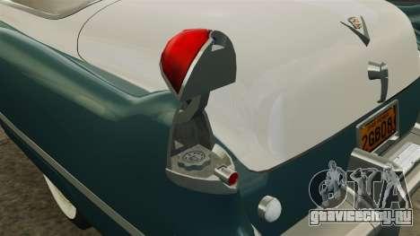 Cadillac Series 62 1949 для GTA 4 двигатель