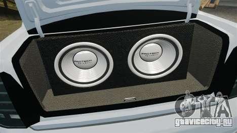 ВАЗ-2170 Lada Priora Turbo для GTA 4 вид сбоку