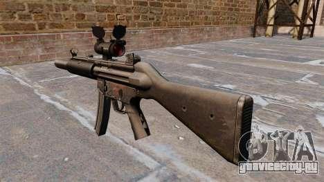 Пистолет-пулемёт HK MP5SD2 для GTA 4 второй скриншот