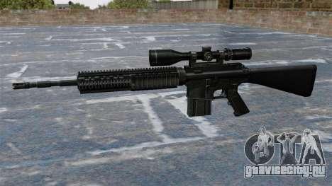 Снайперская винтовка Armalite AR-10 для GTA 4 третий скриншот