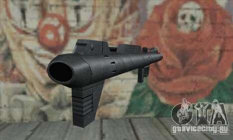 Ракетная установка из Star Wars для GTA San Andreas второй скриншот